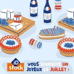 En ce jour, l'équipe iD Stock vous souhaite un joyeux 14 juillet ! 🥳  Nos magasins restent ouverts aujourd'hui, n'hésitez pas à venir découvrir les bonnes affaires du moment ! 💰  Belle journée ! 👋🏼